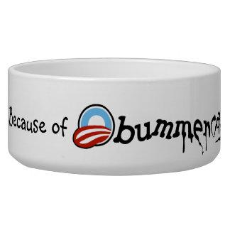 Obummercare (version 1 design) pet bowl