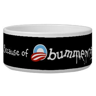 Obummercare (version 2 design) pet bowl