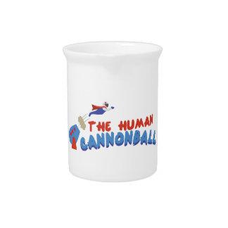 Obús humano jarras para bebida