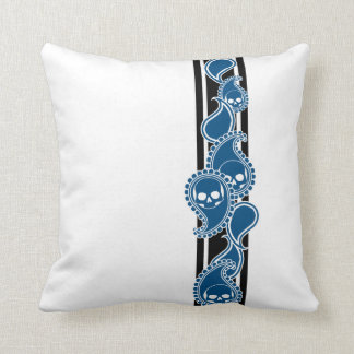 Obverse (Blue) Pillow