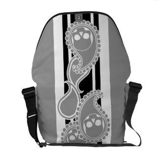 Obverse (Grey) Messenger Bag