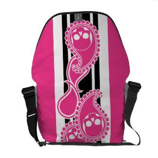 Obverse (Magenta) Messenger Bag