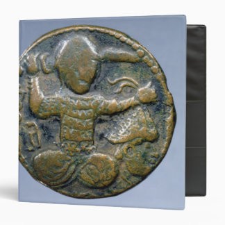 Obverse of coin depicting helmeted Turk 3 Ring Binder