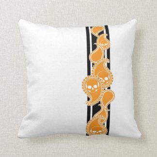 Obverse (Orange) Pillow