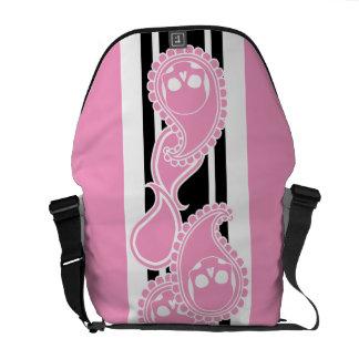Obverse (Pink) Messenger Bag