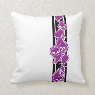 Obverse (Purple) Pillow