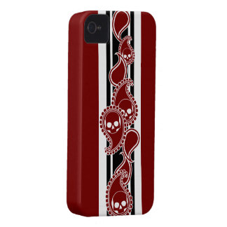 Obverse (Red) iPhone 4 Case