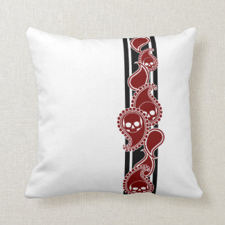 Obverse (Red) Pillow
