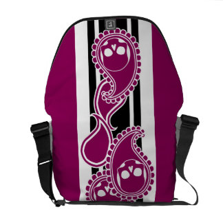 Obverse (Red-Violet) Messenger Bag
