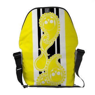 Obverse (Yellow) Messenger Bag