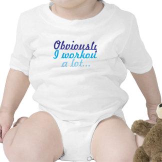 Obviamente yo entrenamiento mucho trajes de bebé