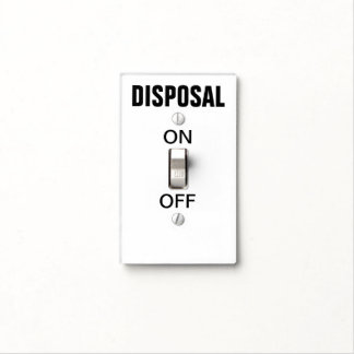 Obvious Garbage Disposal Switch Light Switch Cover