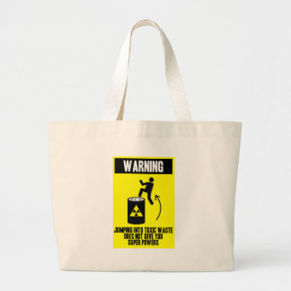 obvious warning sign bags
