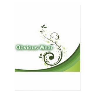 Obvious Wear Paper Products Postcard