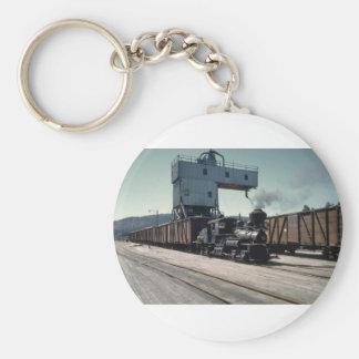 OBW 18 ton Shay locomotive Keychains