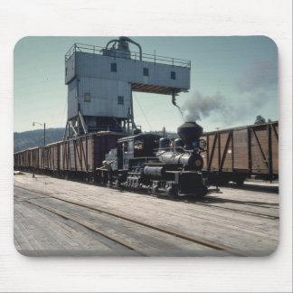 OBW locomotora de Shay de 18 toneladas Tapete De Ratones