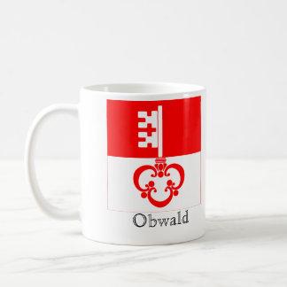 Obwald, banderas de Suisse Drapeau Tazas De Café