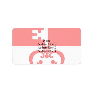Obwalden, Switzerland flag Address Label