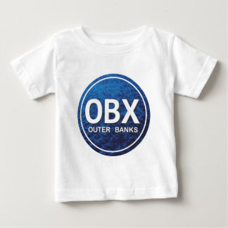 OBX Beach Tag Baby T-Shirt