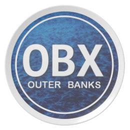 OBX Beach Tag Plate