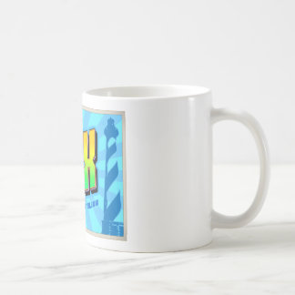 OBX CLASSIC WHITE COFFEE MUG