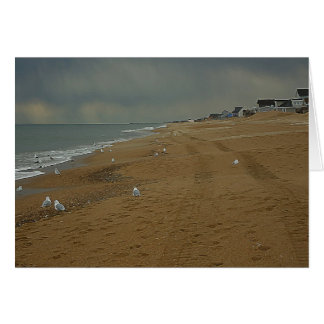 OBX Day at the Beach 5 x 7 Greeting Card
