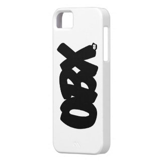 OBX Letters iPhone SE/5/5s Case