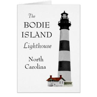 OBX Lighthouse Card