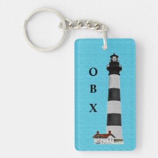 OBX Lighthouse Keychain
