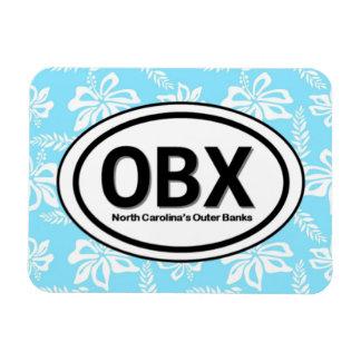 OBX Outer Banks NC Blue Magnet
