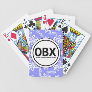 OBX Outer Banks NC Playing Cards