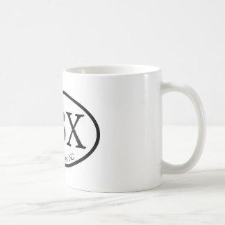 OBX Outer Banks Oval Coffee Mug