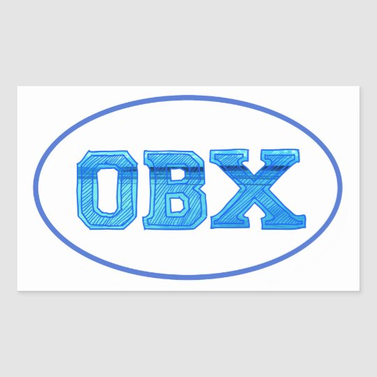 outer banks island sticker