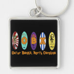 OBX Outer Banks Surf Board Keychain