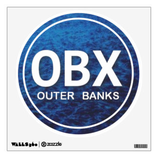 OBX Outer Banks Wall Decal