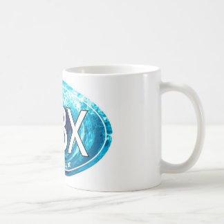 OBX Outer Banks Wave Oval Coffee Mug