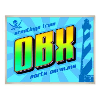 OBX POSTCARD