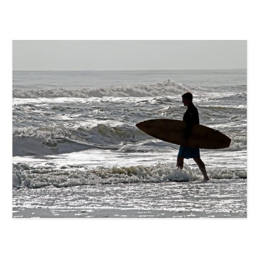 OBX que practica surf Tarjetas Postales