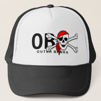 OBX Skull and Crossbones Pirate Outer Banks Hat