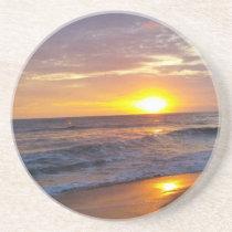 OBX Sunrise Outer Banks Sunrise Drink Coaster