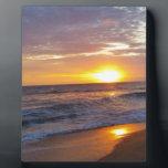 "OBX Sunrise Outer Banks Sunrise Plaque<br><div class=""desc"">Taken at OBX on our vacation. My favorite sunrise photo.</div>"