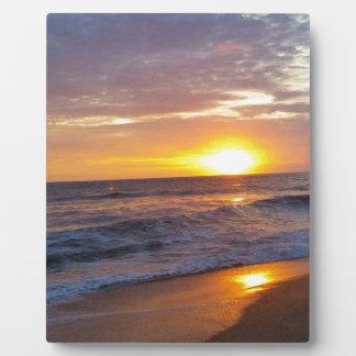 OBX Sunrise Outer Banks Sunrise Plaque