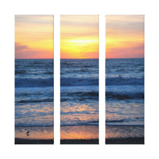 OBX Sunset Canvas Canvas Print