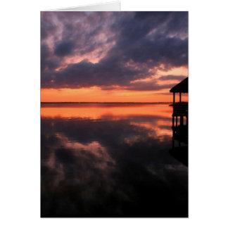 OBX Sunset Card