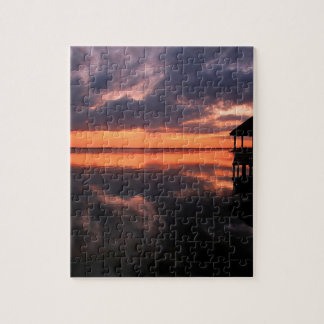 OBX Sunset Jigsaw Puzzle