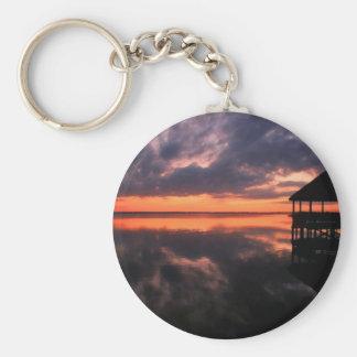 OBX Sunset Keychain