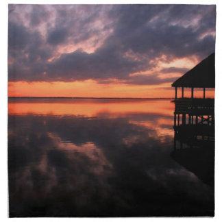 OBX Sunset Napkin
