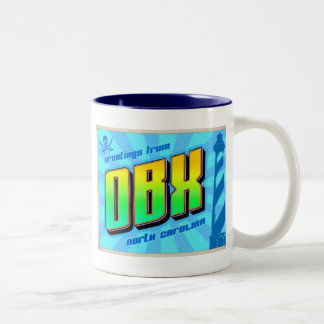 OBX Two-Tone COFFEE MUG
