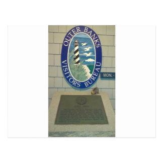 obx visitors center postcard