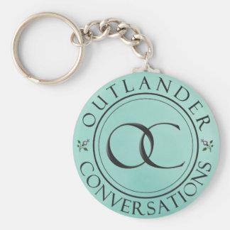 OC Logo Keychain - Blue